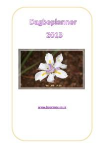 Dagbeplanner 2015
