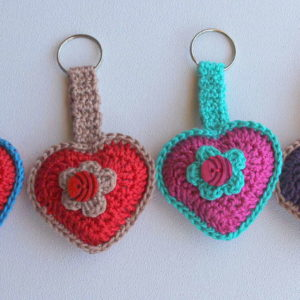Handmade Key Chains - Handgemaakte Sleutelhouers