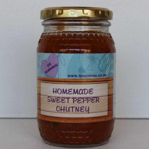 Homemade Chutney - Tuisgemaakte Blatjang