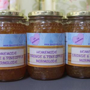 Homemade Marmalade - Tuisgemaakte Marmelade